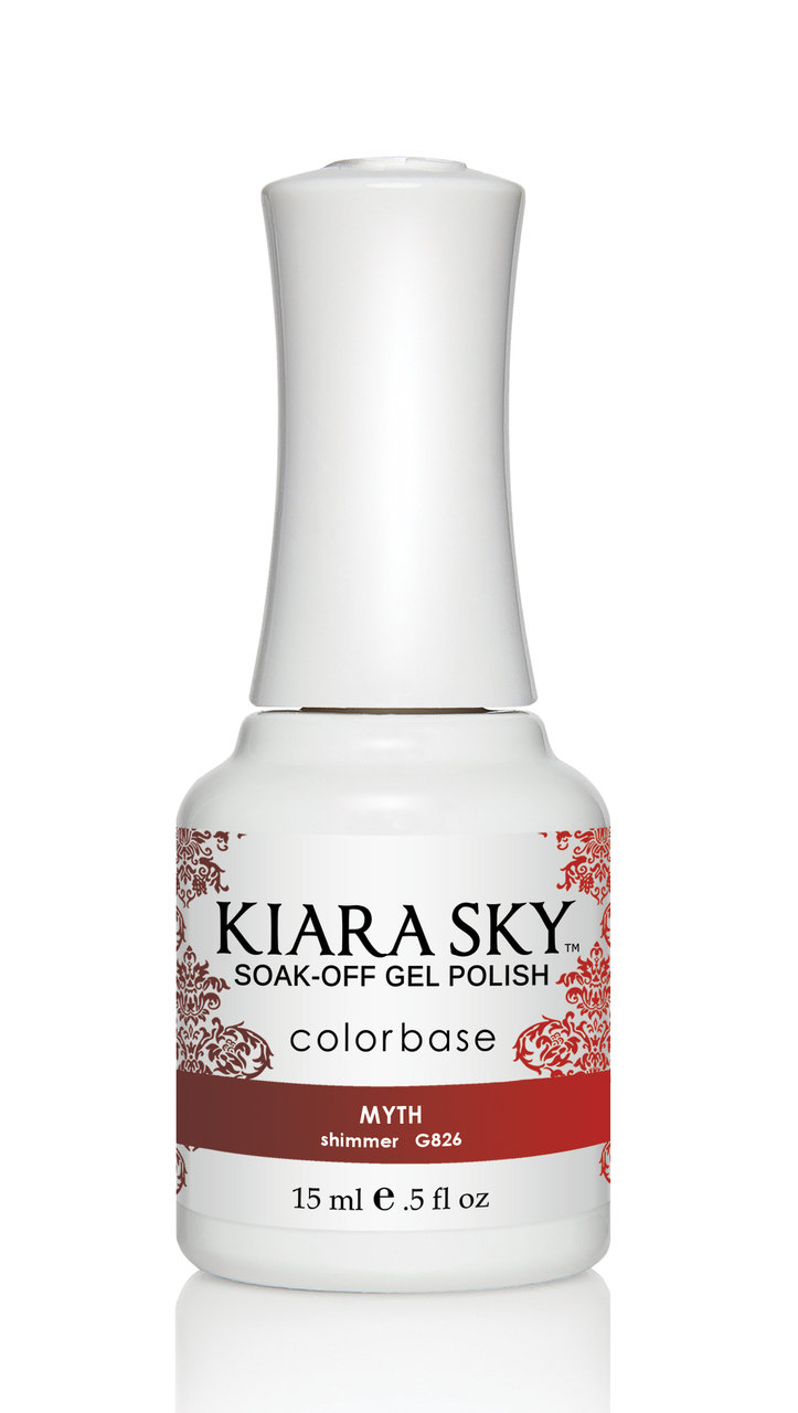 Kiara Sky Ombre Color Changing Gel Polish, Myth .5oz G826