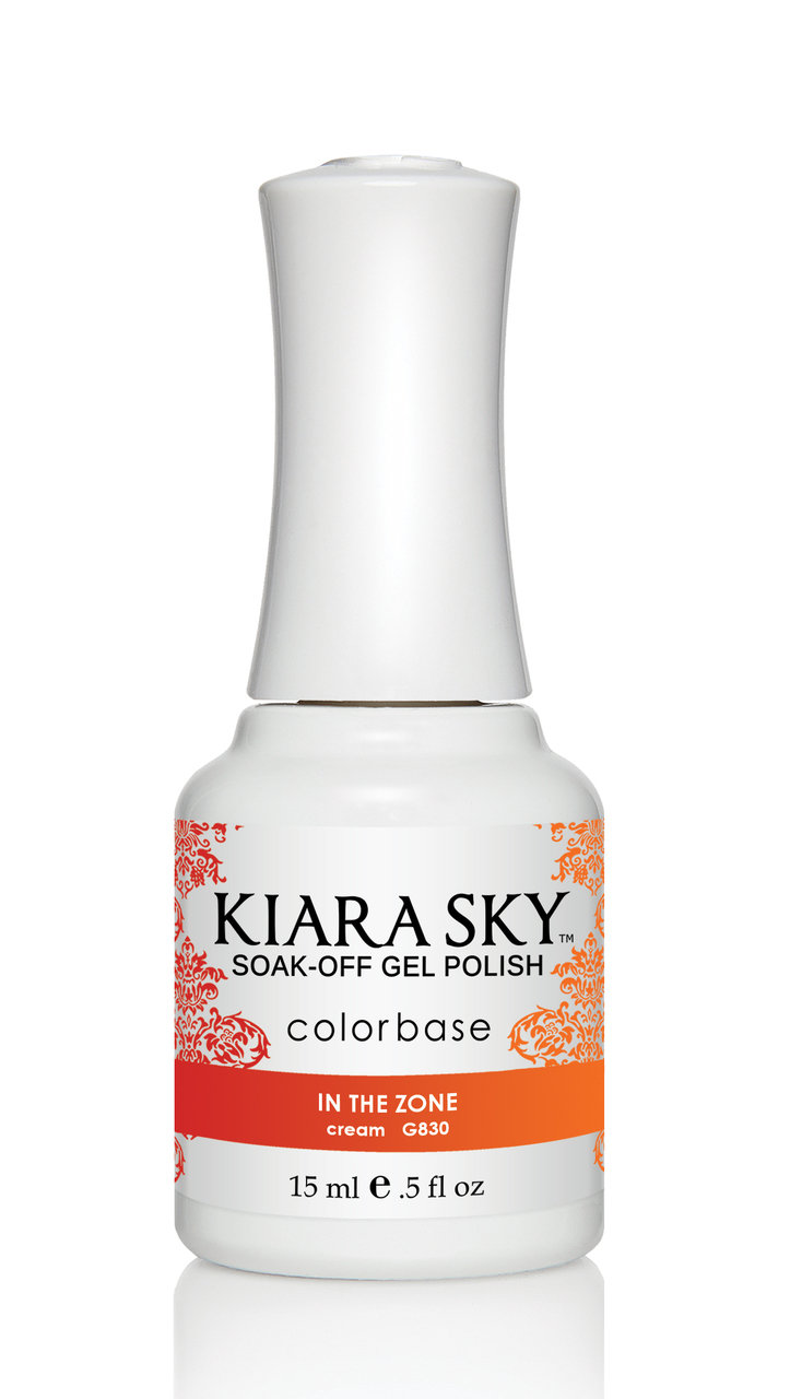 Kiara Sky Ombre Color Changing Gel Polish, In The Zone .5oz G830