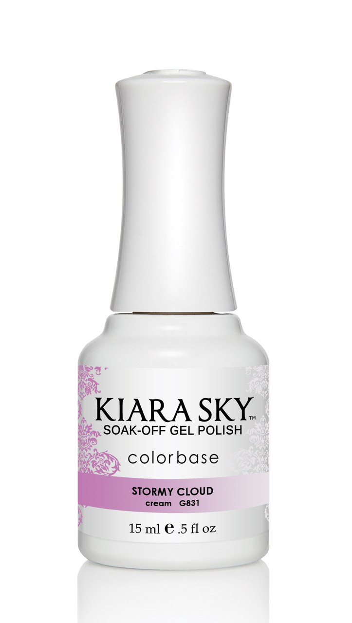 Kiara Sky Ombre Color Changing Gel Polish, Stormy Cloud .5oz G831