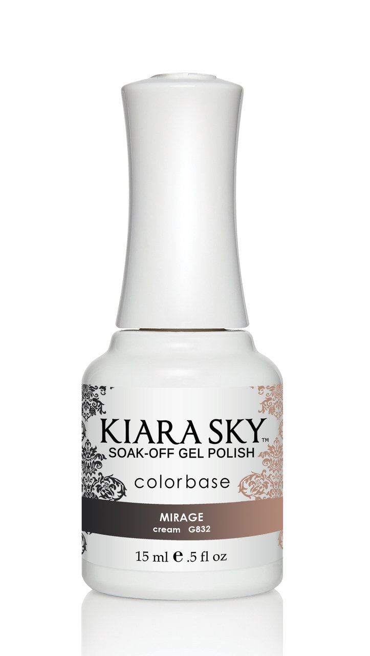 Kiara Sky Ombre Color Changing Gel Polish, Mirage .5oz G832