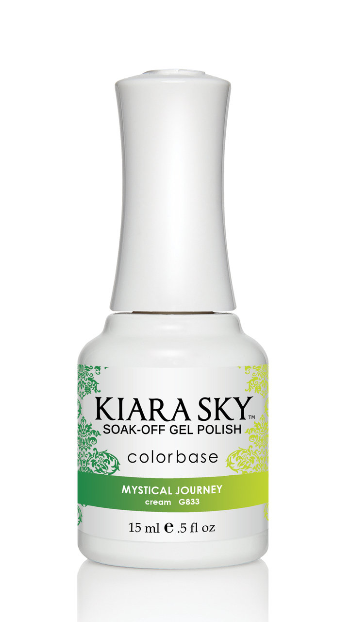 Kiara Sky Ombre Color Changing Gel Polish, Mystical Journey .5oz G833