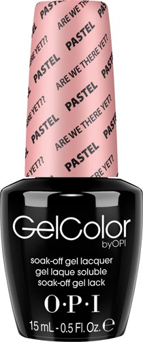 OPI GelColor - #GC105 - Pastels, Are We There Yet?