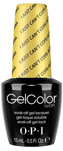 OPI GelColor - #GCA65 - I Just Can't Cope-acabana