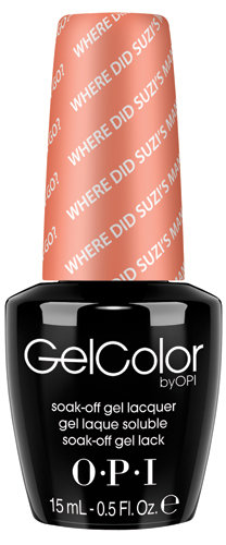 OPI GelColor - #GCA66 - Where Did Suzi's Man-go?