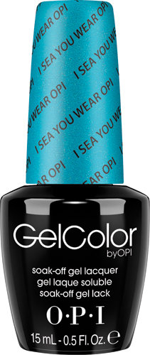 OPI GelColor - BRIGHTS, #GCA73 - I Sea You Wear OPI!