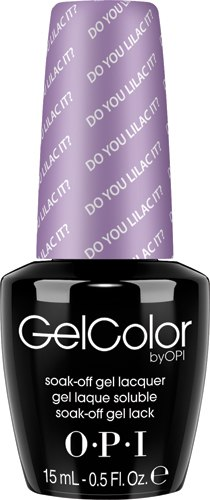 OPI GelColor - #GCB29 - Do You Lilac It?