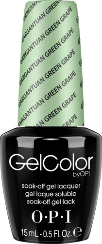 OPI GelColor - #GCB44 - Gargantuan Green Grape