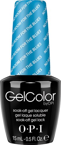 OPI GelColor - #GCB83 - No Room for the Blues