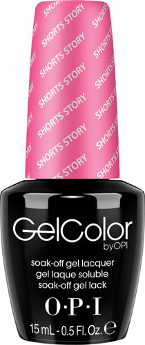 OPI GelColor - #GCB86 - Shorts Story
