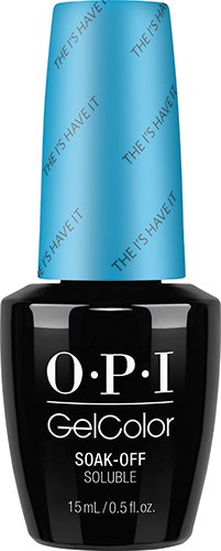 OPI GelColor - ALICE, #GCBA1 - The I's Have It