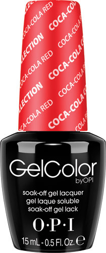 OPI GelColor - #GCC13 - Coke, Coca-Cola Red