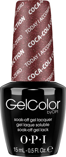 OPI GelColor - #GCC17 - Coke, Today I Accomplished Zero