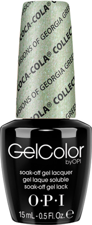 OPI GelColor - COCA- #GCC93 - Visions of Georgia Green