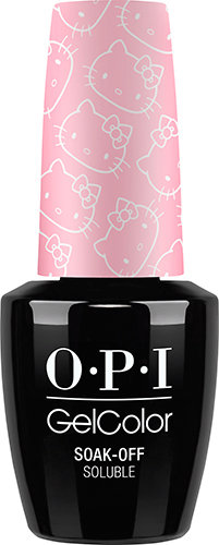 OPI GelColor - HELLO KITTY, #GCH84 - Small + Cute = Heart