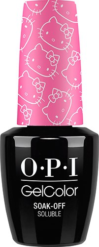 OPI GelColor - HELLO KITTY, #GCH87 - Super Cute in Pink