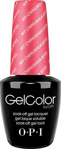 OPI GelColor - #GCM21 - My Chihuahua Bites