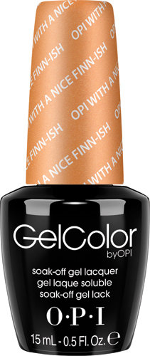 OPI GelColor - #GCN41 - OPI with a Nice Finn-ish