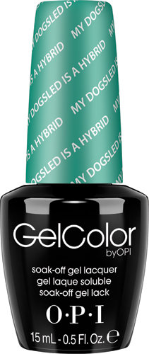 OPI GelColor - #GCN45 - My Dogsled is a Hybrid