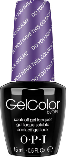 OPI GelColor - #GCN47 - Do You Have this Color in Stock-holm?