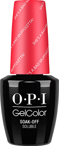OPI GelColor - NEW ORLEANS, #GCN56 - She's a Bad Muffuletta!