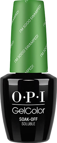OPI GelColor - NEW ORLEANS, #GCN60 - I'm Sooo Swamped