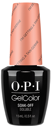OPI GelColor - RETRO SUMMER, #GCR68 - I'm Getting A TanGerine