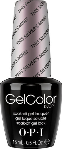OPI GelColor - SOFTSHADES, #GCT67 - This Silver's Mine!