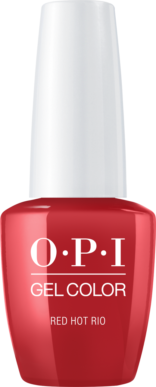 OPI GelColor - #GCA70A - RED HOT RIO .5oz