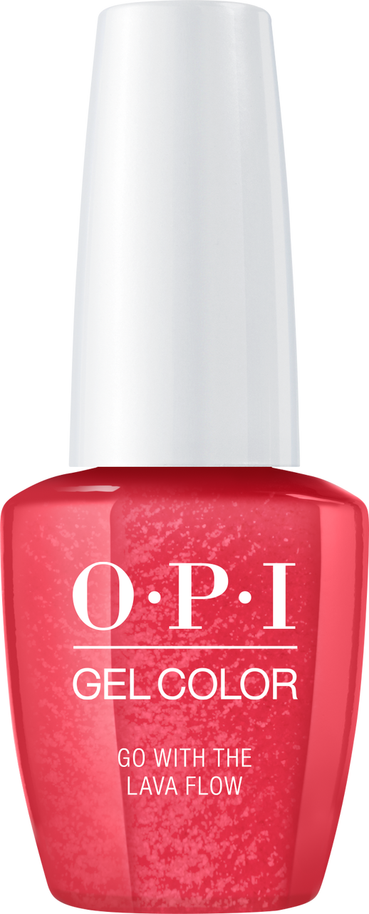 OPI GelColor - #GCH69A - GO WITH THE LAVA FLOW .5oz
