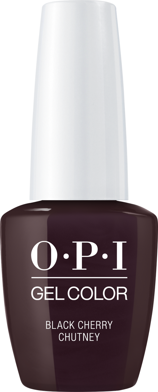 OPI GelColor - #GCI43A - BLACK CHERRY CHUTNEY .5oz