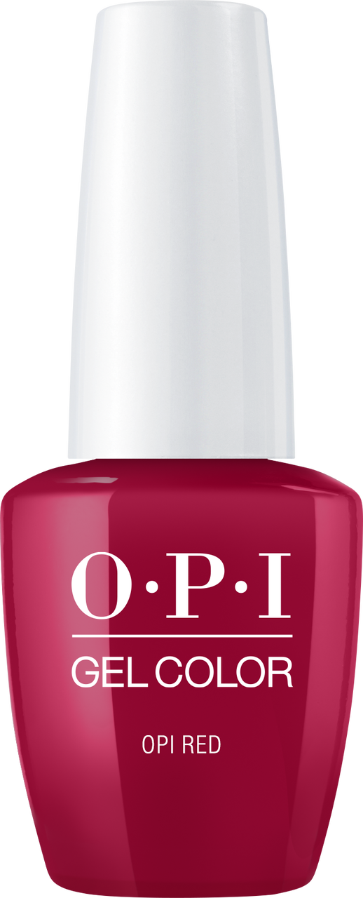 OPI GelColor - #GCL72A - OPI RED .5oz