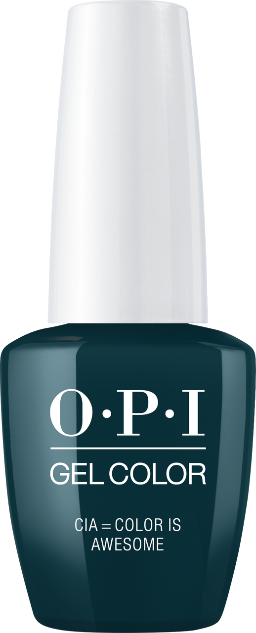 OPI GelColor - #GCW53A - CIA = COLOR IS AWESOME .5oz