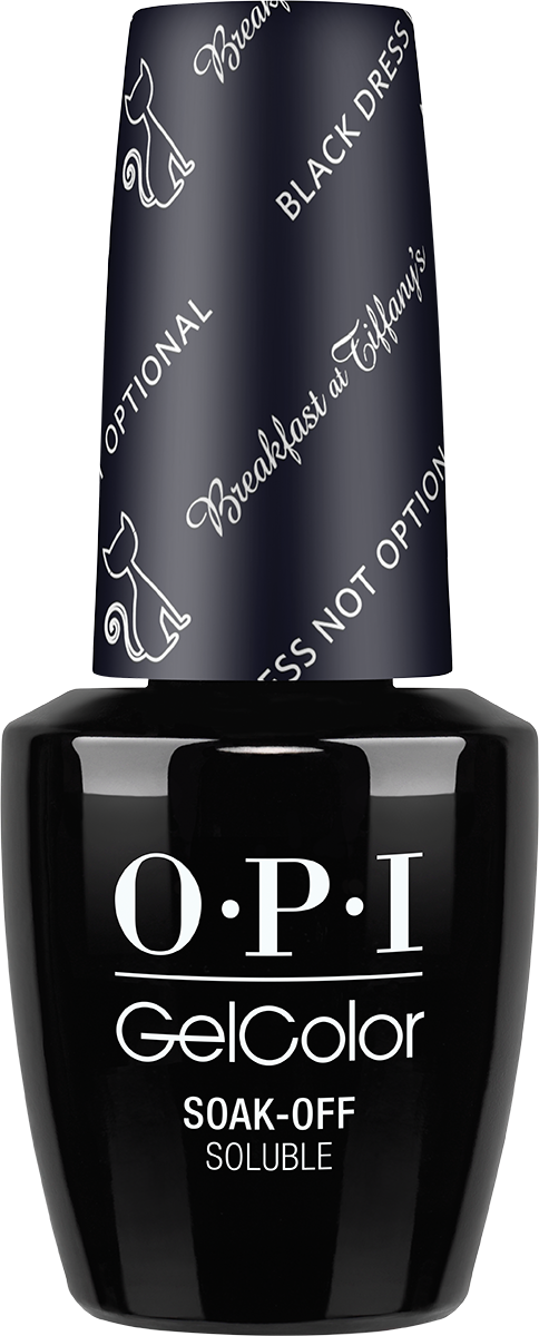 OPI GelColor - #HPH03G - Black Dress Not Optional