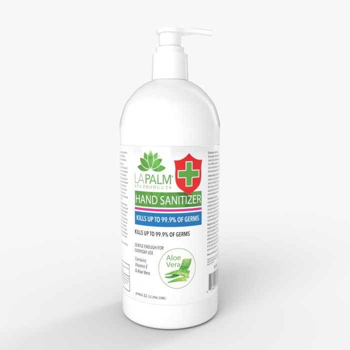 La Palm Hand Sanitizer 32oz