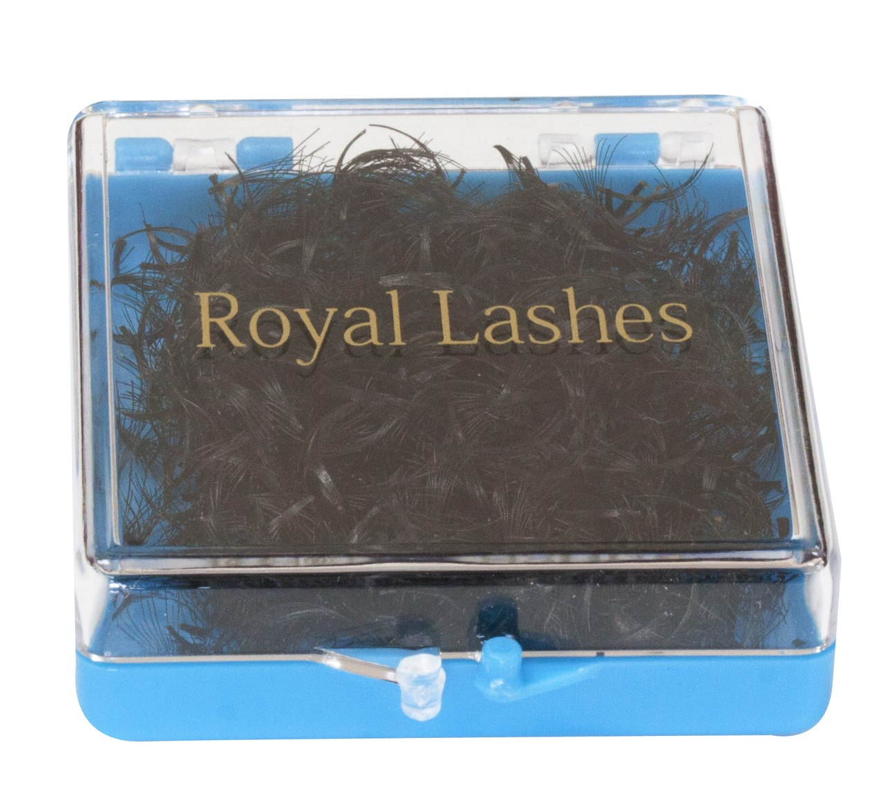 QL Royal Lashes 10 Strands Flare, 1000 pcs (light blue box