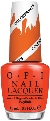 OPI - Color Paints - Chromatic Orange 0.5 oz - NLP21