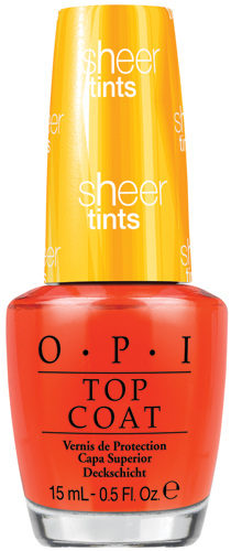 OPI Top Coat, I?m Never Amberrassed