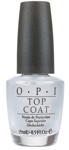 OPI Top Coat: High-Gloss Protection .5 oz