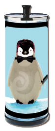 Sanitizing Disinfectant Jar No 4, Penguin Guy
