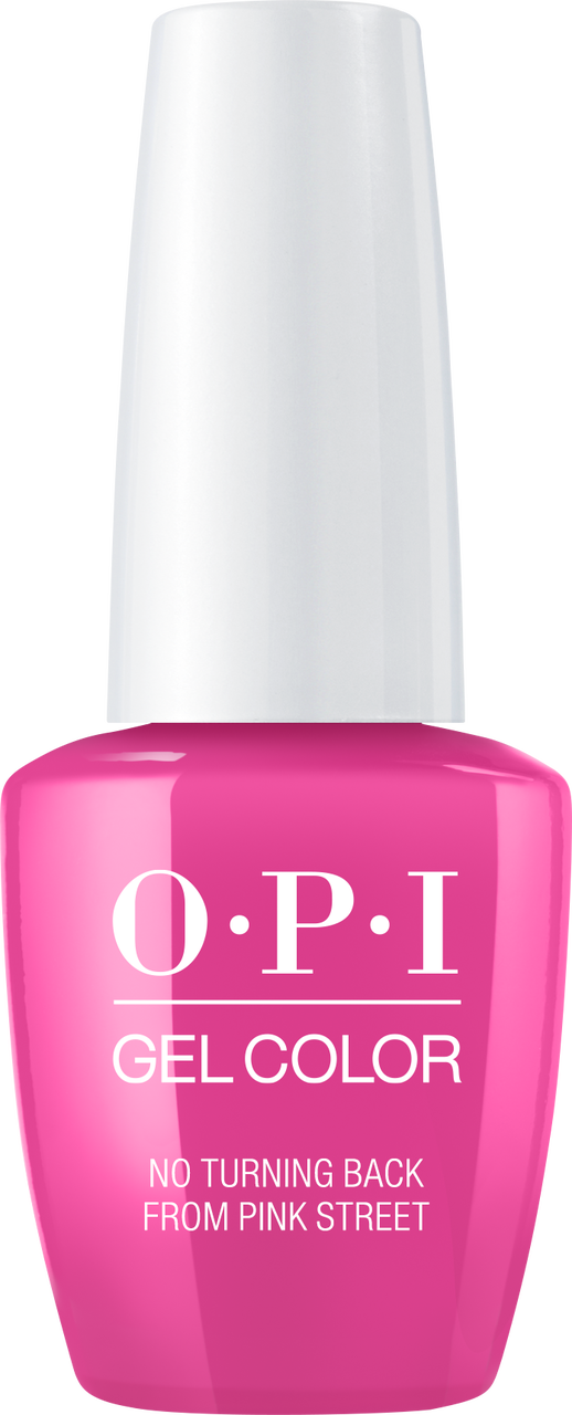 OPI GelColor - Lisbon - No Turning Back From Pink Street - #GCL19
