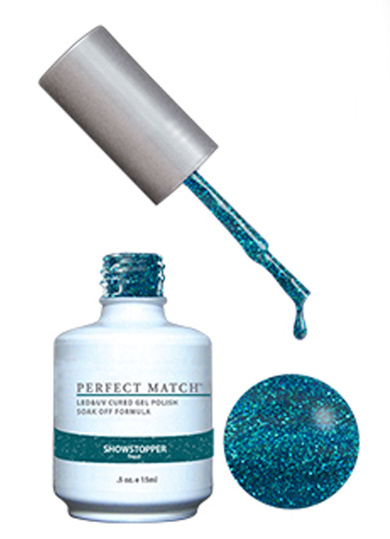 PERFECT MATCH - Gel Polish + Lacquer, Showstopper PMS157 - DW157