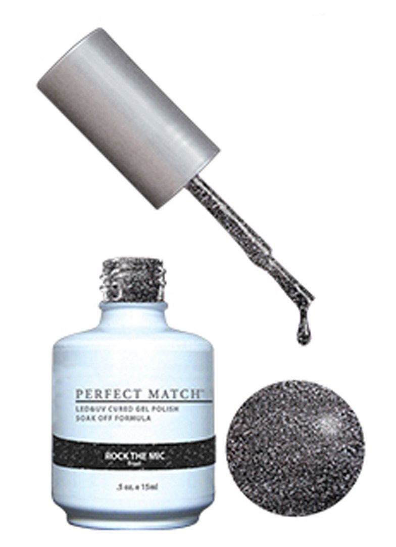 PERFECT MATCH - Gel Polish + Lacquer, Rock the Mic PMS158 - DW158