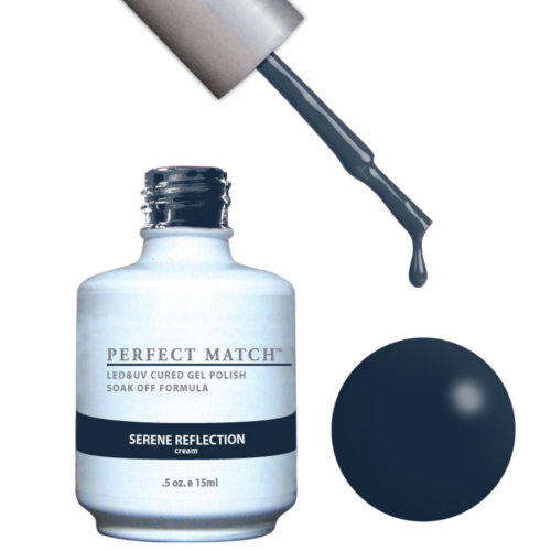PERFECT MATCH - Gel Polish + Lacquer, SERENE REFLECTION PMS105