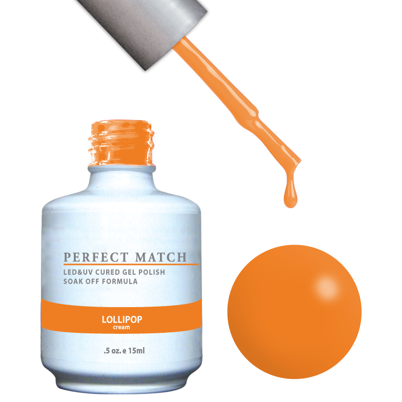 PERFECT MATCH - Gel Polish + Lacquer, LOLLIPOP PMS117