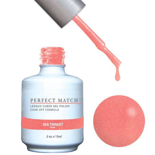 PERFECT MATCH - Gel Polish + Lacquer, SEA TRINKET PMS125