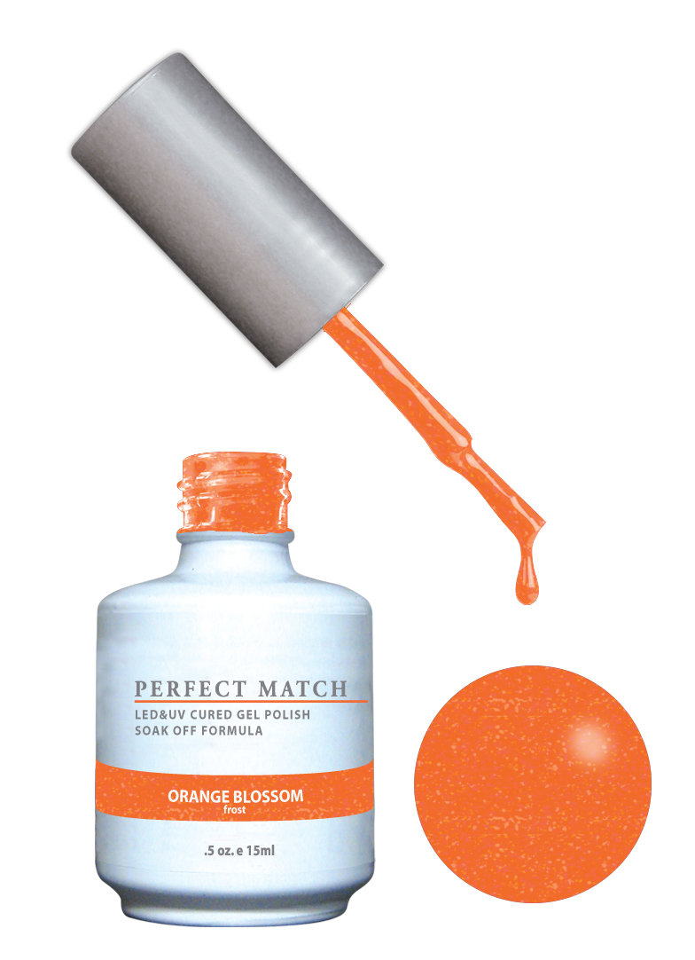 PERFECT MATCH - Gel Polish + Lacquer, Orange Blossom PMS145 - DW145