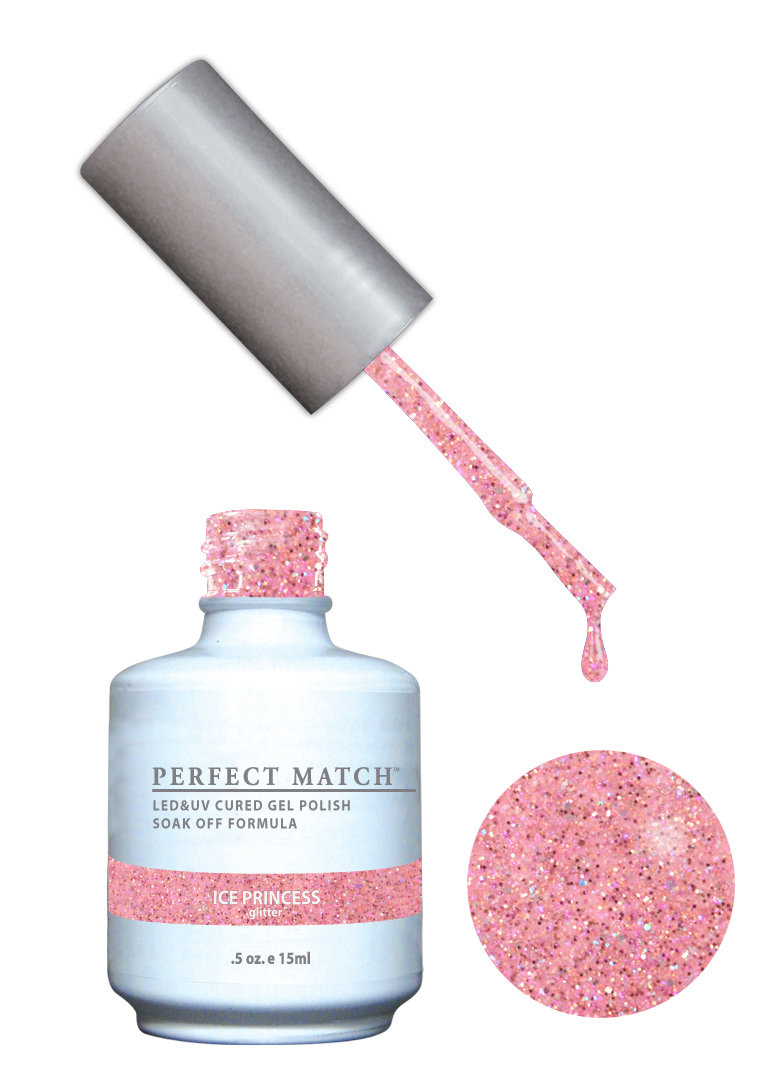 PERFECT MATCH - Gel Polish + Lacquer, Ice Princess PMS167 - DW167