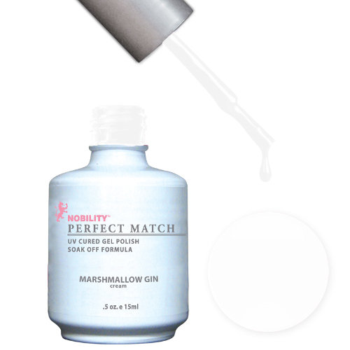 PERFECT MATCH - Gel Polish + Lacquer, MARSHMALLOW GIN PMS35