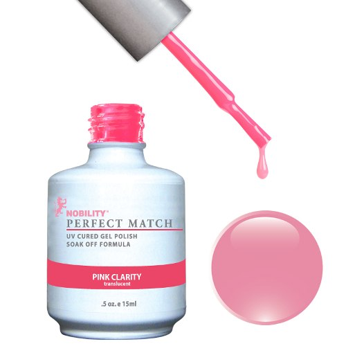 PERFECT MATCH - Gel Polish + Lacquer, PINK CLARITY PMS54