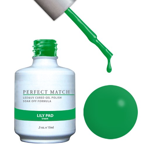 PERFECT MATCH - Gel Polish + Lacquer, LILY PAD PMS99